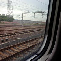 Photo taken at 秦皇岛站 Qinhuangdao Railway Station by Nash T. on 7/22/2014