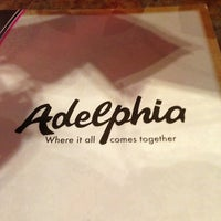 Photo taken at Adelphia Restaurant by Beth 3. on 1/13/2013