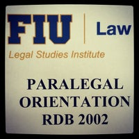 Photo taken at FIU College of Law by Juan D. on 9/6/2014