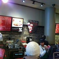 Photo taken at Starbucks by KIRILL on 12/31/2012