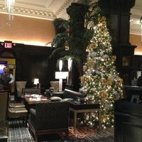 Photo taken at Algonquin Hotel, Autograph Collection by Bonnie L. on 12/31/2012