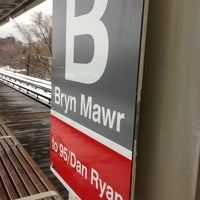 Photo taken at CTA - Bryn Mawr by Lisa A. on 12/27/2012