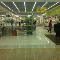 Photo taken at Супермаркет «ХЦ» by Deni J. on 11/20/2012