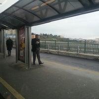 Photo taken at Uzunçayır Metrobüs Durağı by Halim T. on 12/6/2012