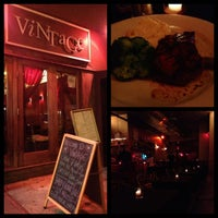 Photo taken at Vintage Bar & Restaurant by Lorma B. on 10/25/2012