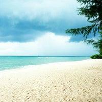 Photo taken at Batu Ferringhi Beach by Azhar I. on 10/7/2012