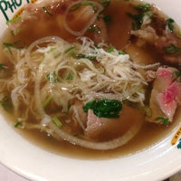 Photo taken at Pho Hoa Noodle Soup by Paul N. on 10/28/2013