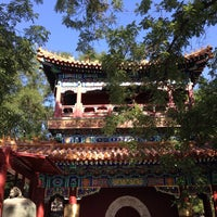 Photo taken at Yonghegong Lama Temple by Zhiwen Y. on 8/28/2014