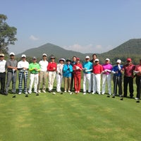 Photo taken at Alpine Golf Resort Chiang Mai by فيزال زينول (. on 12/27/2012