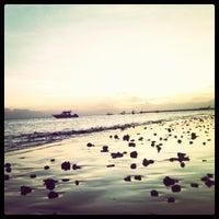Photo taken at Pantai kelan by Andini P. on 7/12/2013