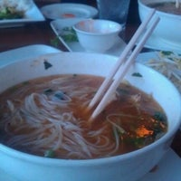 Photo taken at Pho on 6th by Caitlyn on 2/24/2013