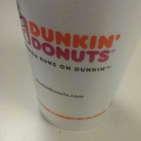 Photo taken at Dunkin Donuts by Matthew D. on 2/5/2014