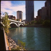 Photo taken at Centre St Bridge by Oleg S. on 9/21/2013