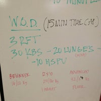 Photo taken at Crossfit Of Greensboro by Laura G. on 8/16/2013