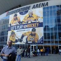 Photo taken at Bridgestone Arena by Daniel F. on 3/23/2013