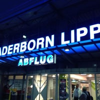 Photo taken at Flughafen Paderborn/Lippstadt (PAD) by Robert H. on 4/26/2013