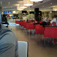 Photo taken at Eiscafé Venezia by Дарья О. on 1/3/2013