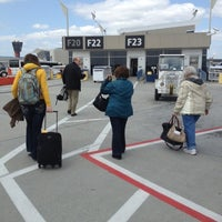 Photo taken at Gate F19 by Mark F. on 4/22/2013