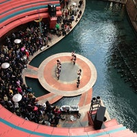 Photo taken at Canal City Hakata by kazu on 2/23/2013