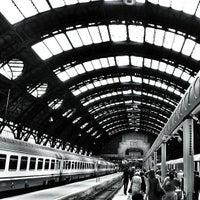 Photo taken at Stazione Milano Centrale by Giulio T. on 7/12/2013