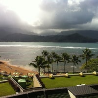 Photo taken at The St. Regis Princeville Resort by Jay S. on 12/22/2011