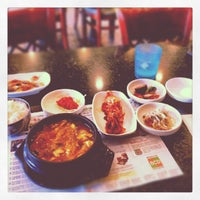 Photo taken at BCD Tofu House by Andrew S. on 8/5/2012