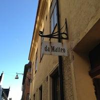 Photo taken at da Matteo by Pascal on 2/20/2013