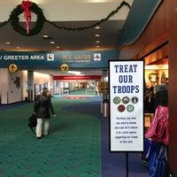Photo taken at Bishop International Airport (FNT) by Thomas P E. on 12/18/2012