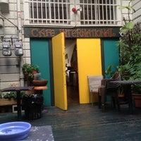 Photo taken at Cafe International by David B. on 11/26/2012