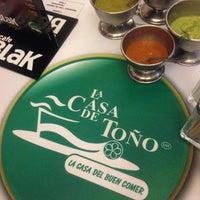 Photo taken at La Casa de Toño by Pako S. on 12/1/2012