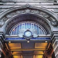 Photo taken at London Waterloo Railway Station (WAT) by William H. on 12/21/2012