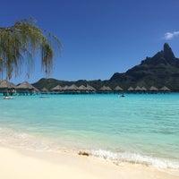 Photo taken at Le Méridien Bora Bora by Jill L. on 9/1/2015