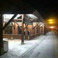 Photo taken at MBTA Attleboro Station by Edward M. on 1/22/2013