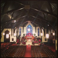 Photo taken at St Mark's Episcopal Church by Elizabeth on 12/25/2012