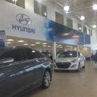 Photo taken at Go Auto Northstar Hyundai by David B. on 4/26/2013