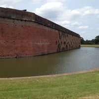 Photo taken at Fort Pulaski by Danny S. on 5/11/2013