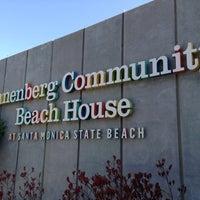 Photo taken at Annenberg Community Beach House by David G. on 5/27/2013