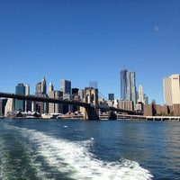 Photo taken at East River Ferry by Felipe L. on 9/28/2013