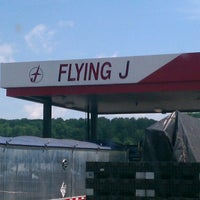 Photo taken at Flying J by Antione L. on 7/18/2013