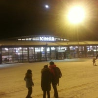 Photo taken at Kittilä Airport (KTT) by Alexei K. on 12/28/2012