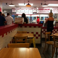 Photo taken at Five Guys by Aaron K. on 4/28/2013