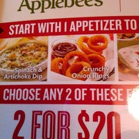 Photo taken at Applebee's by Suzi B. on 3/20/2013