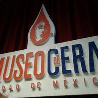 Photo taken at Museo de Cera by Brenda Larissa V. on 1/13/2013