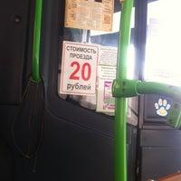Photo taken at 85 автобус by Anya Z. on 2/24/2013