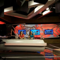 Photo taken at ATV Canal 9 by Augusto A. on 1/21/2016
