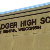 Photo taken at Badger High School by Shan O. on 6/7/2014