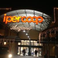 Photo taken at Ipercoop by Riccardo J. on 12/22/2012