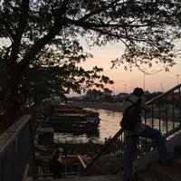Photo taken at Bến Bình Đông by Giang P. on 2/15/2015