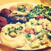 Photo taken at Aladdin's Mediterranean Grill & Deli by Blake on 7/29/2013