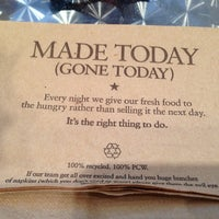 Photo taken at Pret A Manger by G O. on 2/16/2013